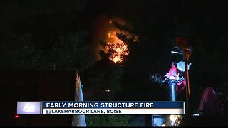 Families displaced by fire in Boise - Video
