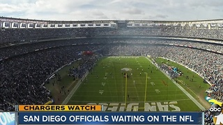 Chargers Watch: San Diego officials waiting on the NFL - Video