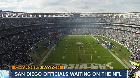 Chargers Watch: San Diego officials waiting on the NFL