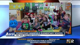 Good morning from Ms. Heck's kindergarten class - Video