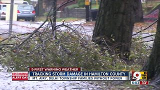 Tracking storm damage in Hamilton County - Video