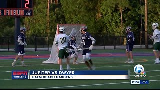 Jupiter vs Dwyer lacrosse 4/16