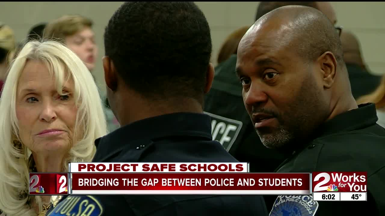 Bridging the gap between police and students
