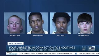Four suspects in custody after deadly crime spree