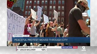 Protests spread from Downtown to suburbs