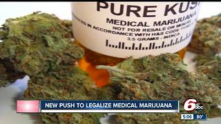 New push to legalize medical marijuana - Video