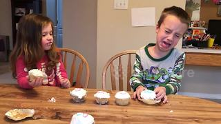 Boy is really disappointed with new baby gender reveal - Video