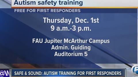 Autism safety training event in Jupiter