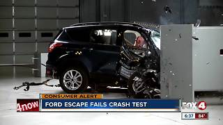 ford escape fails crash test - Video