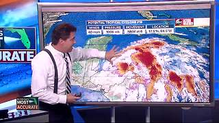 Potential Tropical Cyclone 18 Forecast with Denis Phillips on Friday, October 27, 2017 (5PM) - Video