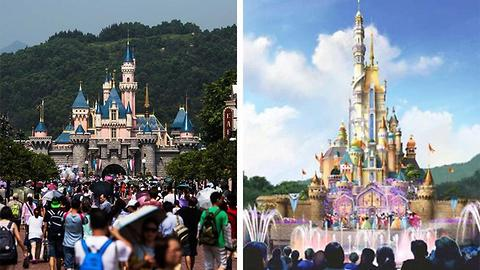 Hong Kong Disneyland Is Transforming Sleeping Beauty's Castle Into Something Ridiculously Amazing
