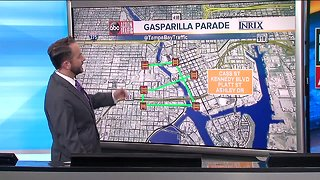 Gasparilla Parade Traffic and Street Closures