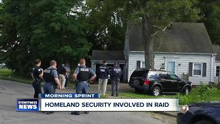 Homeland Security at Niagara Falls home