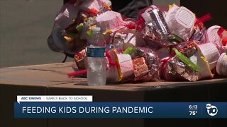 Feeding San Diego's kids during the pandemic