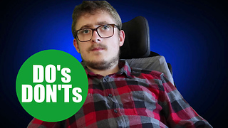 Disabled student makes top ten list of do's and dont's when dating a WHEELCHAIR user