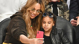 Beyonce & Blue Ivy STEAL the Spotlight at the 2018 NBA All Star Game - Video