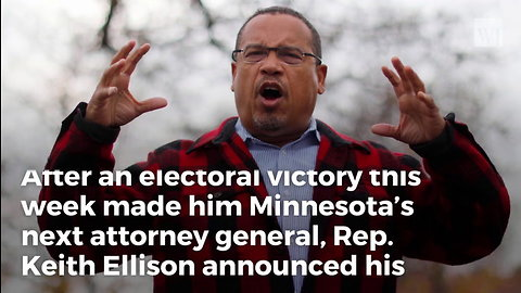 Keith Ellison Resigns from DNC
