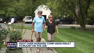 Metro Detroit man details worker's comp nightmare that landed him in court - Video