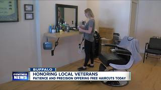 Free haircuts for service members this Memorial Day - Video