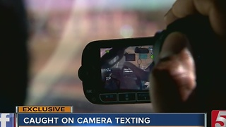 Police Go Undercover To Catch Texters - Video