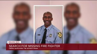 Detroit Fire Sergeant Presumed Dead