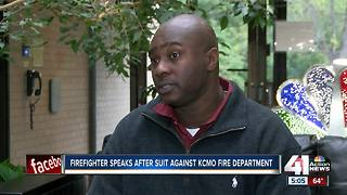 Firefighter speaks after suit against KCMO Fire Department