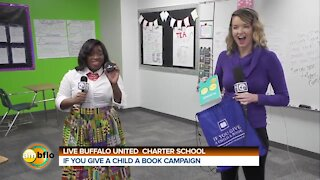 IF YOU GIVE A CHILD A BOOK CAMPAIGN DELIVERS BOOKS TO BUFFALO UNTED CHARTER SCHOOL - PART 5
