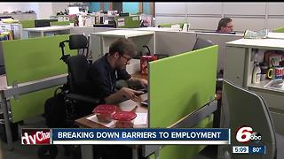 Eskenazi Health provides internship for those with disabilities - Video
