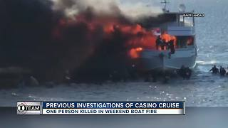 Previous investigation of casino cruise that caught fire | WFTS Investigative Report - Video