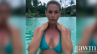 Social Media Video Post By 51-Year-Old Cindy Crawford Is Causing A Huge Stir - Video