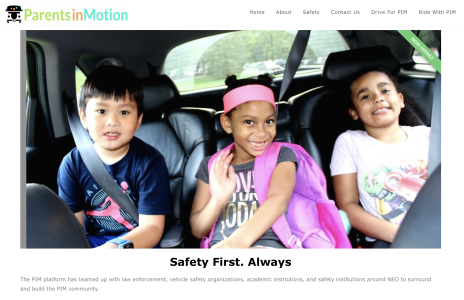 There's now a ride-share program for kids