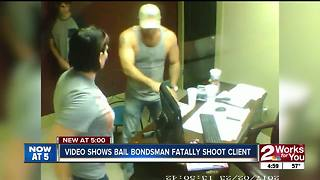 VIDEO: Bail bondsman fatally shoots client, found not guilty - Video