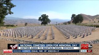 Memorial Day will be a little different at Bakersfield National Cemetery this year