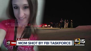 Mother shot four times during FBI task force operation