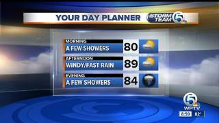 Monday midmorning forecast - Video