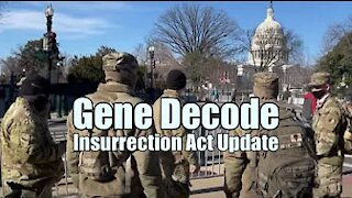 Gene Decode - Insurrection Act Update! B2T Show Jan 11, 2021 (IS)