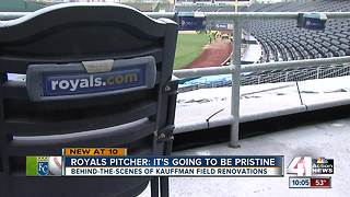 Royals crews finish up massive field renovation - Video