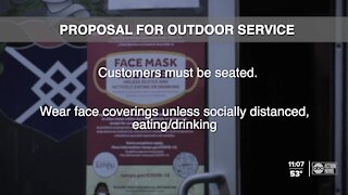 Proposal would expand Hillsborough's mask mandate to outdoor bar, restaurant spaces