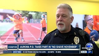Aurora police takes part in No Shave November