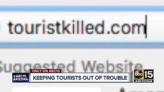 Man's mission is to keep tourists safe