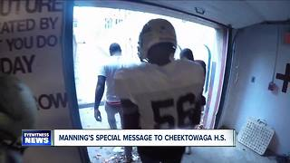 Cheektowaga Football gets special reward - Video