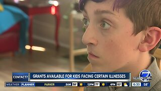 Grants available for children facing illnesses