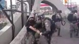 Israeli Forces Clash With Protesters in West Bank - Video