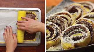Nutella roll: easy and irresistible for everyone - Video