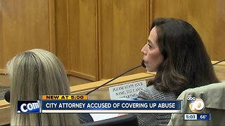 City attorney accused of covering up abuse