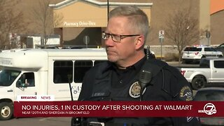 Broomfield police provide update on Walmart shooting