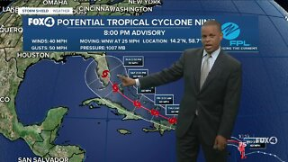Potential Tropical Cyclone #9 PM 7/28/20