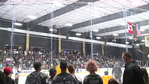 Vegas Golden Knights fans enjoy special seats, connections with team