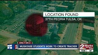 Muskogee HS students create tracker to help with child abductions - Video