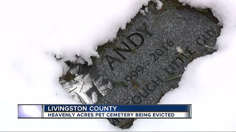 Genoa Township pet cemetery scrambling for answers after being evicted